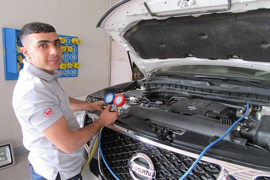 Car Workshop In Dubai Amp Sharjah Nasir Kalaji Auto Maintenance Workshop